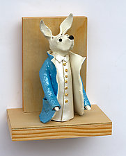 The Professor by Byron Williamson (Ceramic Wall Sculpture)