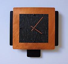 Short Espresso by Linda Lamore (Metal Clock)
