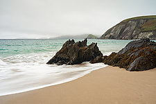 Coasts of Ireland No. 40 - Coumeenoole Strand in Color by Matt Anderson (Color Photograph)
