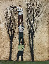 Pruners by Brian Kershisnik (Giclee Print)