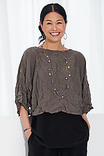 Atlas Crinkle Topper by Comfy USA  (Woven Top)
