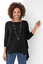 Ribbed Vancouver Top by Comfy USA  (Knit Top)