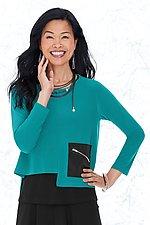 Liana Pocket Topper by Comfy USA (Knit Top)