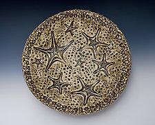 Ocean Deep Sea Star Bowl by Valerie Seaberg (Ceramic Bowl)