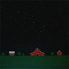 Under the Big Dipper XI by Sharon France (Acrylic Painting)