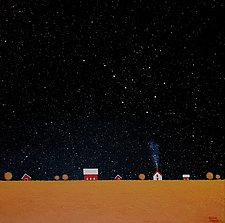 Under the Big Dipper XV by Sharon France (Acrylic Painting)
