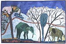 Malawi Ellys by Pamela Allen (Fiber Wall Hanging)