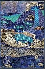 New Zoo by Pamela Allen (Fiber Wall Hanging)
