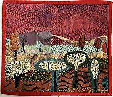 Ten Trees by Pamela Allen (Fiber Wall Hanging)