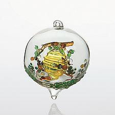 Sweet as Honey by Steve  Scherer (Art Glass Ornament)