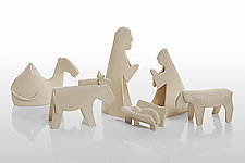 Nativity by Beth DiCara (Ceramic Sculpture)