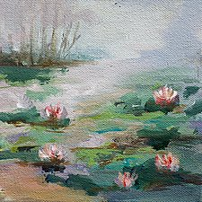 Spring Collection 1 by Karen  Hale (Acrylic Painting)