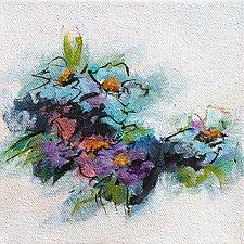 Blue Essence I by Karen  Hale (Acrylic Painting)