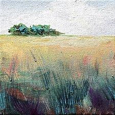 Slow Walk Back II by Karen  Hale (Acrylic Painting)