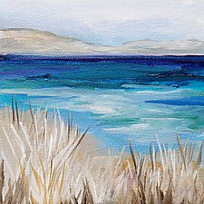 Sea Grass by Karen  Hale (Acrylic Painting)