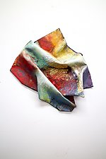On Purpose by Karen  Hale (Painted Wall Sculpture)