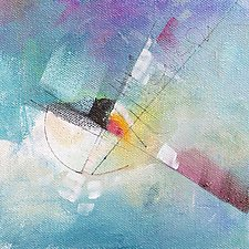 Tangents 1 by Karen  Hale (Acrylic Painting)