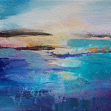 Abstract View 1 by Karen  Hale (Acrylic Painting)