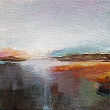 Somewhere 2 by Karen  Hale (Acrylic Painting)