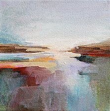 Somewhere 1 by Karen  Hale (Acrylic Painting)