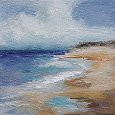 Coastal Retreat II by Karen  Hale (Acrylic Painting)