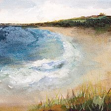 Summer Day 2 by Karen  Hale (Acrylic Painting)