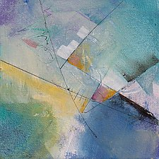 Tangents 2 by Karen  Hale (Acrylic Painting)