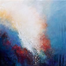 Cascading Light by Karen  Hale (Acrylic Painting)