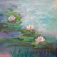 Still Water by Karen  Hale (Acrylic Painting)