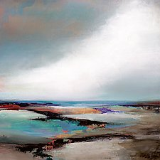 Sea View III by Karen  Hale (Acrylic Painting)