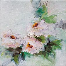 Soft and Simple I by Karen  Hale (Acrylic Painting)