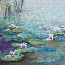 Still Water 2 by Karen  Hale (Acrylic Painting)