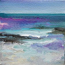 Sea Magic by Karen  Hale (Acrylic Painting)