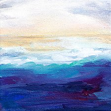 Rising Tide by Karen  Hale (Acrylic Painting)