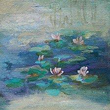 Silence by Karen  Hale (Acrylic Painting)
