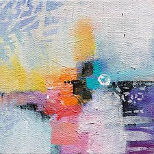 Moving Pieces IV by Karen  Hale (Acrylic Painting)