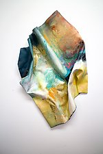 Catches Your Eye by Karen  Hale (Painted Wall Sculpture)