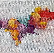 Among Friends I by Karen  Hale (Acrylic Painting)