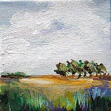 Slow Walk Back I by Karen  Hale (Acrylic Painting)