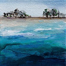 From the Sea by Karen  Hale (Acrylic Painting)