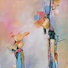 Reaching Out by Karen  Hale (Acrylic Painting)
