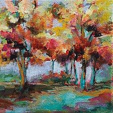 Light of Day III by Karen  Hale (Acrylic Painting)