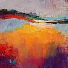 Glowing 1 by Karen  Hale (Acrylic Painting)