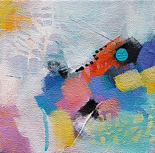 Moving Pieces II by Karen  Hale (Acrylic Painting)