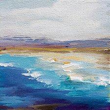 Off Shore Breeze by Karen  Hale (Acrylic Painting)