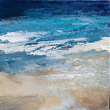 Coastal Currents by Karen  Hale (Acrylic Painting)