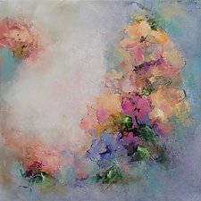 Garden Play by Karen  Hale (Acrylic Painting)