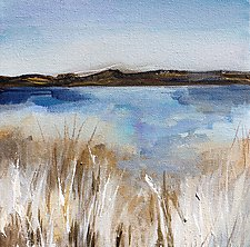Coastal Grasses by Karen  Hale (Acrylic Painting)