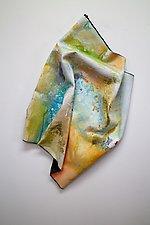 Look Around by Karen  Hale (Painted Wall Sculpture)
