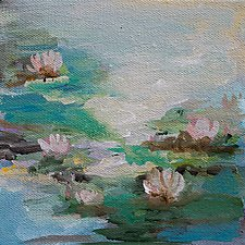 Spring Collection 2 by Karen  Hale (Acrylic Painting)